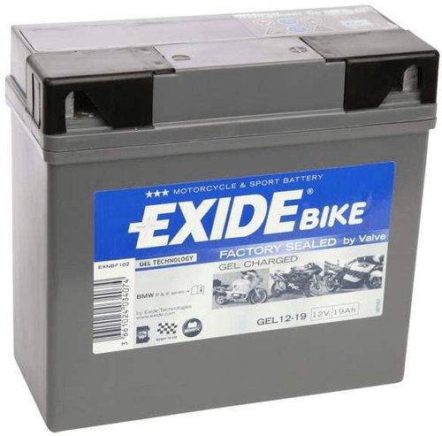Exide Bike Gel G19 19AH
