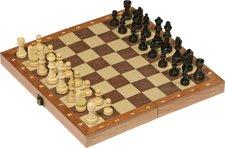 goki Schachspiel in Holzklappkassette (56921)
