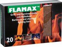 Flamax Ökologische Anzünder mit Reibekopf 20 Riegel