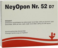 vitOrgan Neyopon Nr.52 D 7 Ampullen (5 x 2 ml)