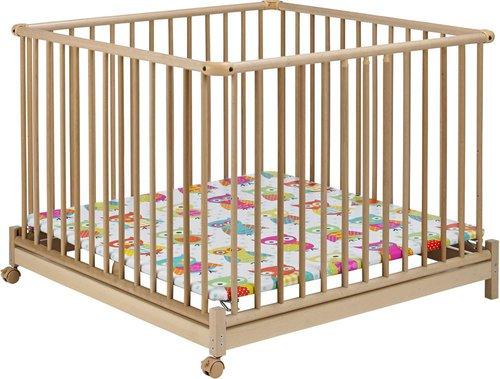 geuther laufgitter euro parc natur 102 x 102 cm preisvergleich ab 134. Black Bedroom Furniture Sets. Home Design Ideas