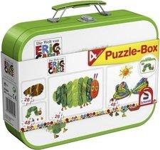 Schmidt Spiele Die kleine Raupe Nimmersatt - Puzzle-Box
