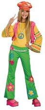 Rubies Hippie Kostüm für Mädchen