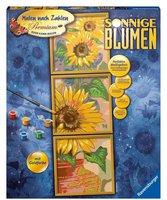 Ravensburger Malen nach Zahlen Sonnige Blumen