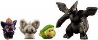 Tomy Pokemon schwarz & weiß Monster Collection Mini Figur