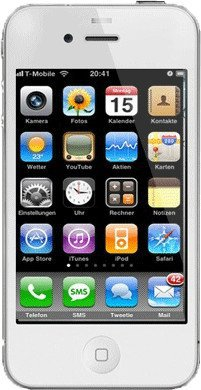 apple iphone 4 8gb ohne vertrag preisvergleich ab 88 96. Black Bedroom Furniture Sets. Home Design Ideas