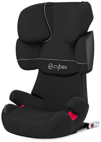 cybex solution x fix pure black ab 104 98 im. Black Bedroom Furniture Sets. Home Design Ideas