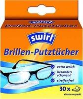 Swirl Brillenputztücher 14 x 125 cm weiß (30 Stk.)