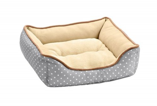 Hunter Hundesofa White Dots (40 x 40 cm)