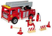 Legler Feuerwehrwagen mit Zubehör (1527)