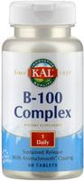 Supplementa Vitamin-Complex B 100, v. A. Tabletten (60 Stk.)