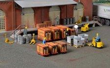 Kibri Kleincontainer und Ladegut (8647)