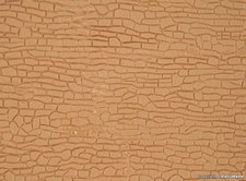 Kibri Mauerplatte unregelmäßig mit Abdecksteinen (4120)