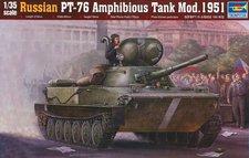 Trumpeter Russian PT-76 Amphibious Tank Mod. 1951 (750379)