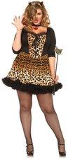 Sexy Leoparden Faschingskostüm