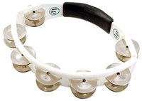 Latin Percussion LP Cyclops Hand held Tambourin Weiß