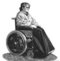MBP Rollstuhlzubehör Beinschutzdecke