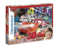 Clementoni Magic 3D - Cars 2 - The fastest crew (104 Teile)