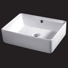 Eago Design Waschbecken 50 x 36 cm (BA131)