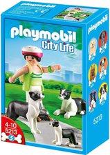 Playmobil 5213 Hunde Border Collie-Familie