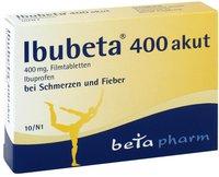beta pharm Ibubeta 400 akut Filmtabletten