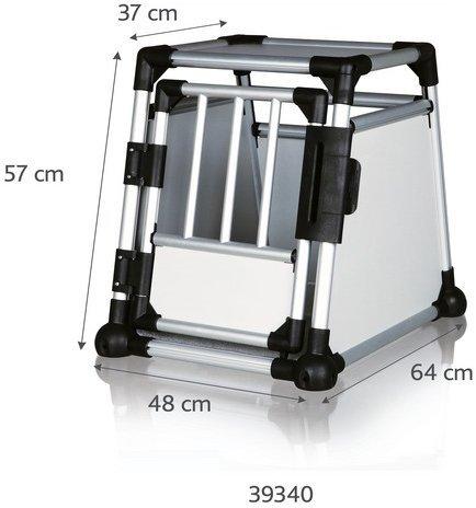 Trixie Transportkäfig Aluminium (48 × 57 × 64 cm)
