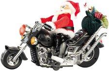 Infactory Santa Bike Weihnachtsmann auf Motorrad