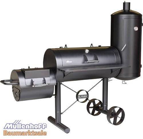el fuego bbq smoker grill ay312 g nstig kaufen. Black Bedroom Furniture Sets. Home Design Ideas