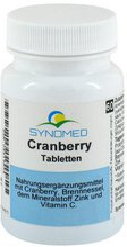Synomed Cranberry Tabletten (60 Stk.)
