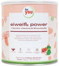 Strunz For You Eiweiss Power Erdbeere (750 g)