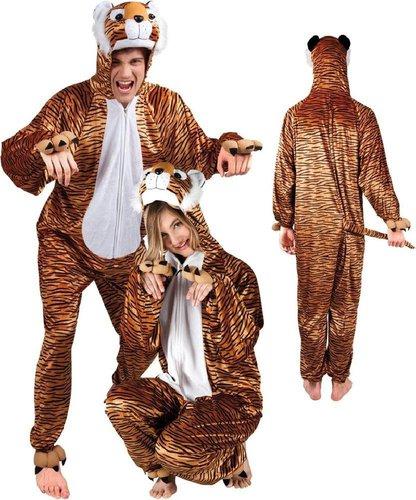 Tiger Plüsch Kostüm