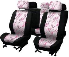 Service Best Pink Flower Sitzbezugset