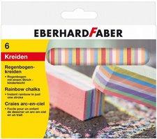 Eberhard Faber Regenbogenkreide 6 Stück