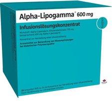 Wörwag Alpha Lipogamma 600 Infusionslösungskonzentrat (20 x 24 ml)