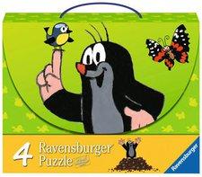 Ravensburger Maulwurf und seine Freunde 4-in-1 (2 x 25, 2 x 36 Teile)