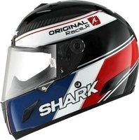 Shark Race-R Original schwarz/blau/rot