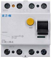 Eaton FI-Schutzschalter PXF-40/4/05-A
