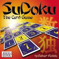 Z-Man Games Sodoku: The Card Game (englisch)