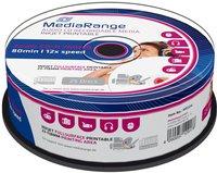 MediaRange CD-R 700mb 80min 52x Audio 25er Cakebox