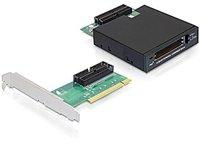 DeLock 3.5 PCMCIA Laufwerk 2 Slot CardBus (61834)