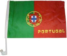 Portugal Autofahne EM 2016
