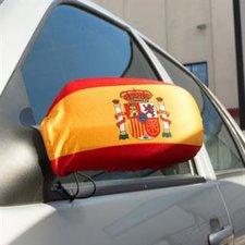 Spanien Außenspiegelflagge EM 2016