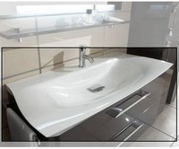 Marlin Innovation Mineralmarmor-Waschtisch Elegance 113,7 x 48,5 cm