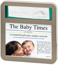 Baby Art News Print Frame