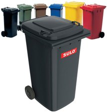 Sulo Mülltonne 120 Liter grau