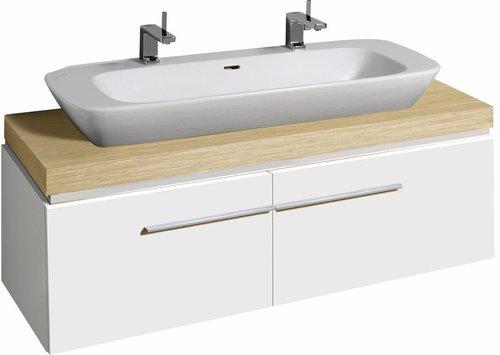 keramag silk waschtischunterschrank 140 cm wei online. Black Bedroom Furniture Sets. Home Design Ideas