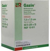 Bios Gazin Kompressen 7,5 x 7,5 cm 8-fach steril (25 x 2 Stk.)