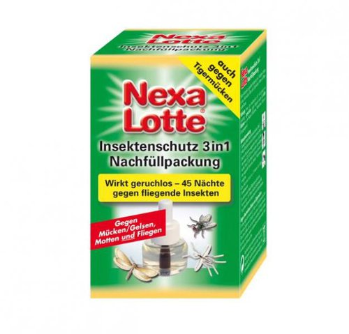 nexa lotte insektenschutz 3in1 nachf llpackung 35 ml preisvergleich ab 2 39. Black Bedroom Furniture Sets. Home Design Ideas