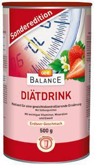 GEHE Balance Diätdrink Erdbeer Pulver (500 g)