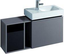 Keramag iCon xs Waschtischunterschrank (platin)